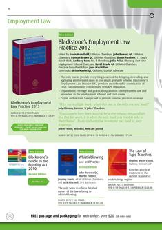 Employment Law 2012/2013