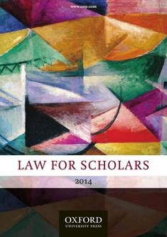Law for Scholars 2014