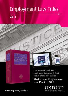 Employment Law Titles 2014