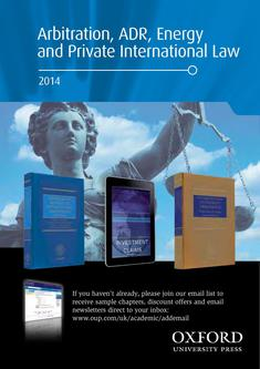 Arbitration, ADR, Energy, and Private Law 2014