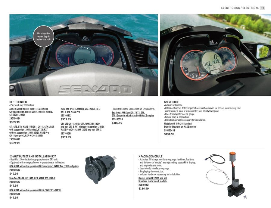 Page 50 of 2017 Sea-Doo Parts, Accessories & Riding Gear