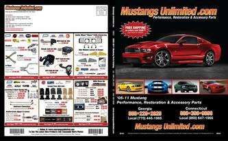Catalogue: Mustangs Unlimited 2005-Present Mustang Catalog