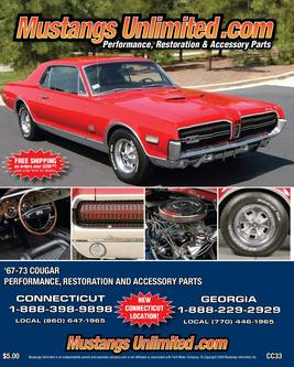 1967-1973 Mercury Cougar Catalog