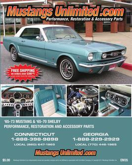 2011 1965-73 Mustang & 1965-70 Shelby Parts