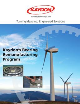 Bearing Remanufacturing Program
