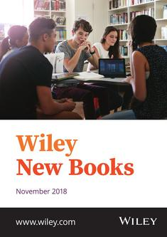Wiley New Books November 2018 VCH