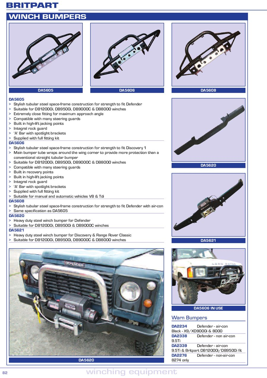 Page 6 Of Land Rover Winching Equipment Defender Air Conditioning P 10