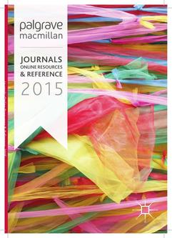 Journals, Online Resources and Reference 2015