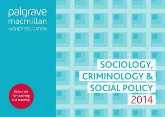Higher Education Sociology, Social Policy and Criminology 2014