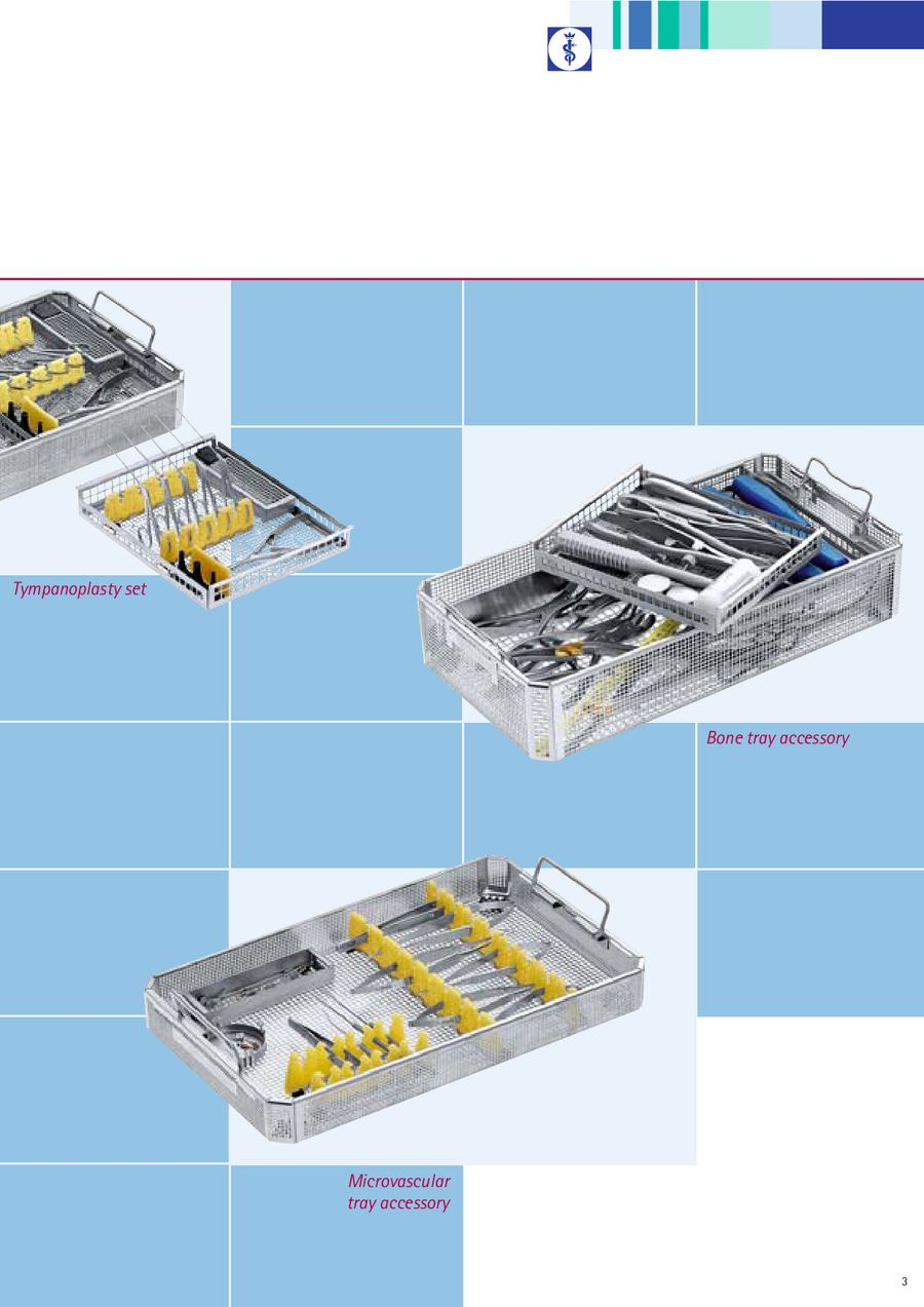 Universal Storage System by Aesculap Surgical Instruments