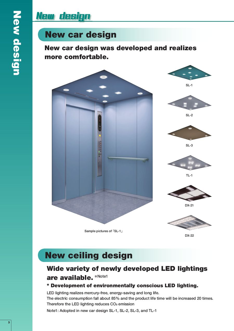 Compact machine room Elevators by Toshiba Elevator and Buiilding Systems