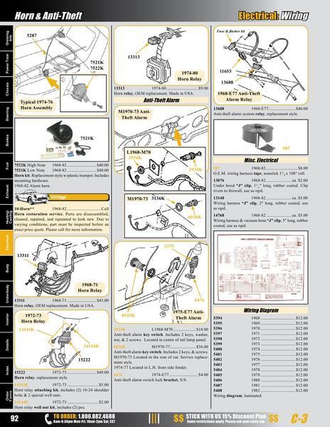 zoom in 1974 corvette under hood wiring harness diagram 2006 gmc sierra under hood fuse box diagram