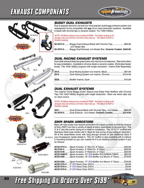 Page 80 of Appletree Automotive of the catalog 2011 Dune ...