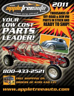 2011 Dune Buggy & Aircooled VW Parts