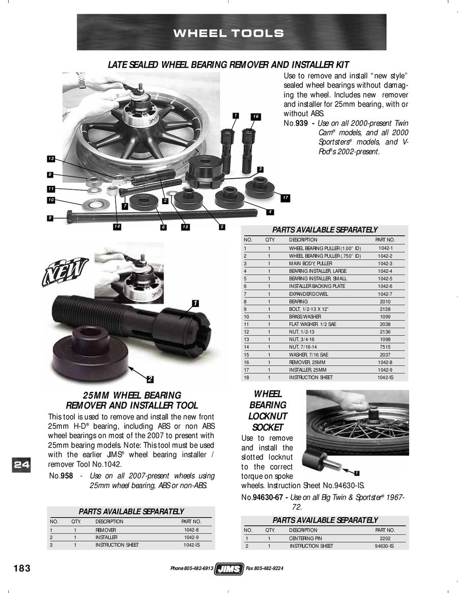 Page 200 of Jims Harley Performance Parts