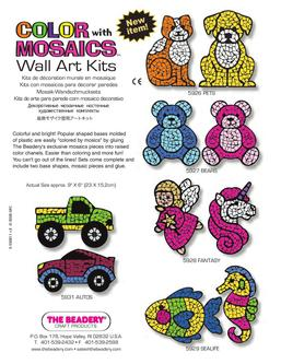 Color With Mosaics Wall Art Kits