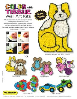 Color	With Tissue; Wall Art Kits