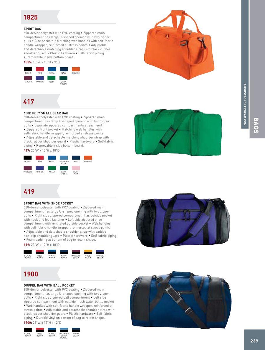 8ad7ec3f491c Bags/Totes 2012 by Augusta Sportswear