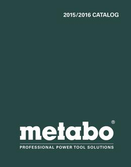 Metabo Power Tools 2015-2016