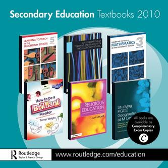 Secondary Education Textbooks 2010