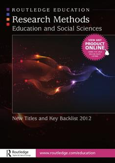 Research Methods Education and Social Sciences 2012