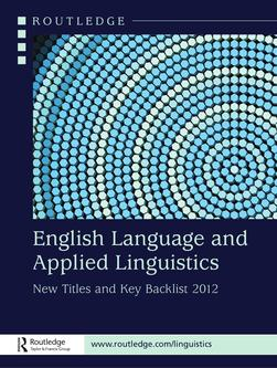 English language and Applied Linguistics 2012