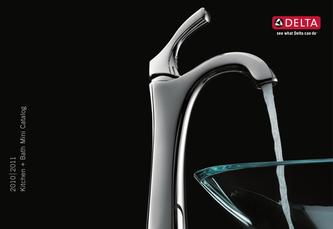 Catalogue: Delta Faucet 2010 - 2011 Delta Mini Catalog