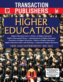 Higher Education 2011-2012