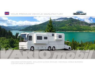 Motorhome catalog model year 2019