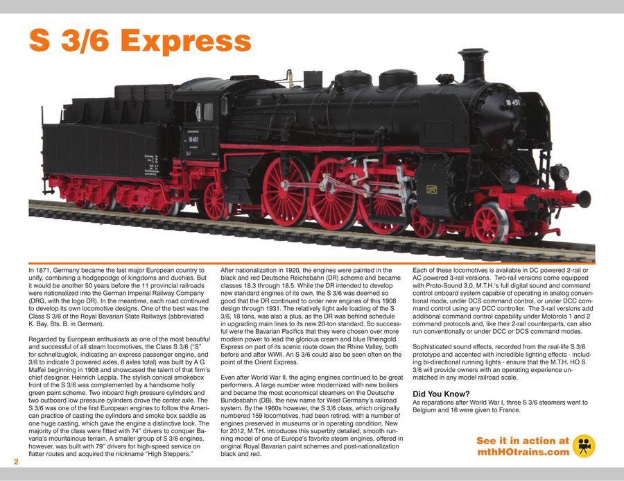 2013 HO Gauge Trains Volume 1 by MTH Trains