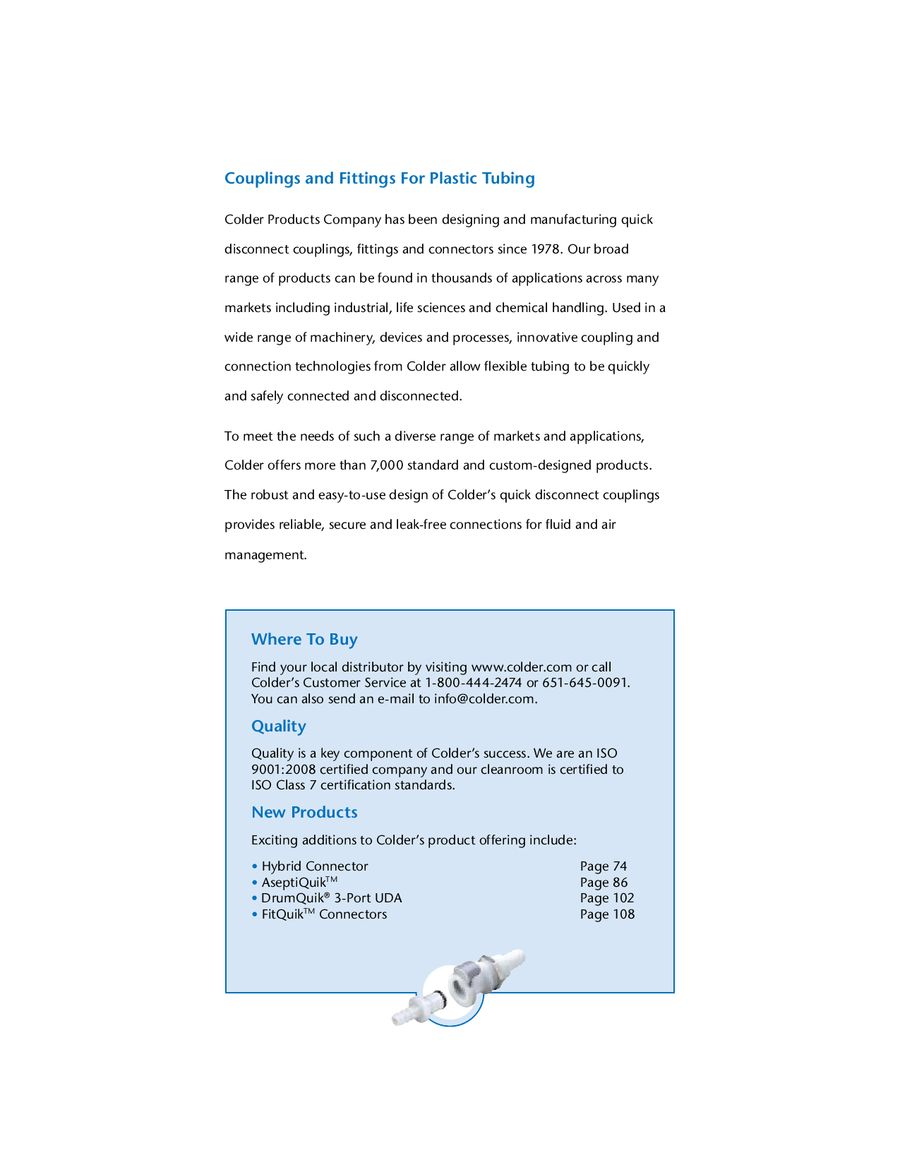 Page 53 of Couplings and Fittings For Plastic Tubing