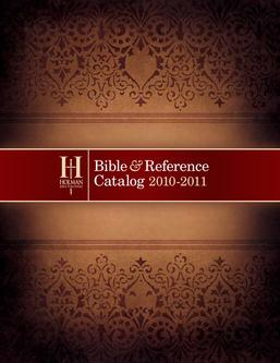2010 Bible Catalog / New Releases
