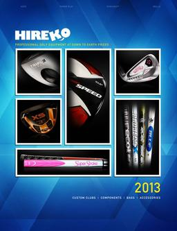 2013 Golf Equipment