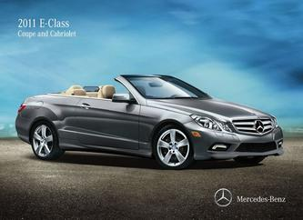 2011 E-Class Coupe and Cabriolet
