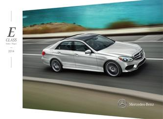 2014 Mercedes-Benz E-Class Sedan and Wagon