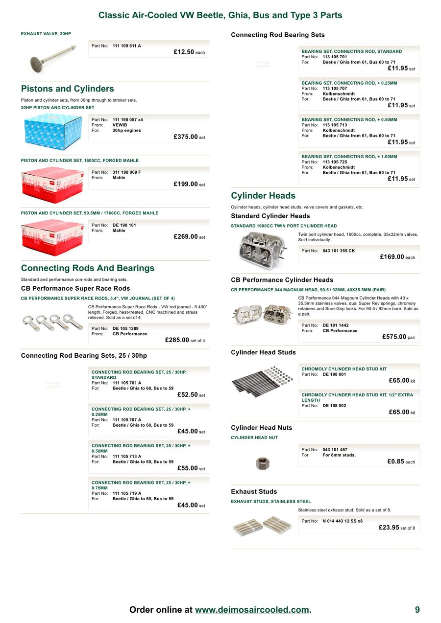 Page 7 of VW Parts and Accessories March 2012