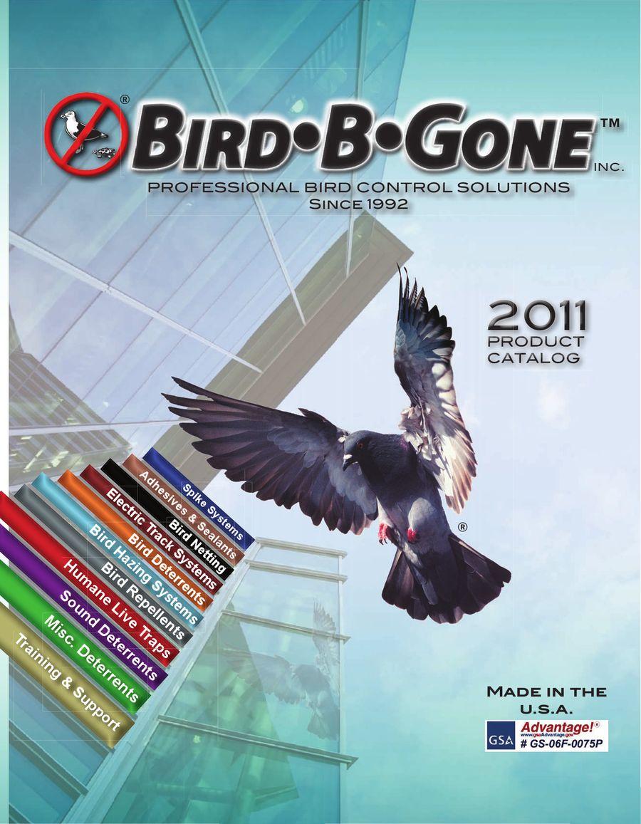 Bird control solutions 2011 by Bird-B-Gone