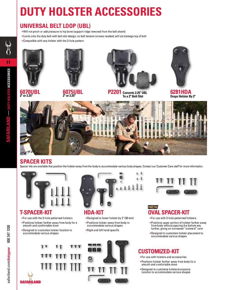 Colocación de UBL Safariland 2011-duty-gear-000012