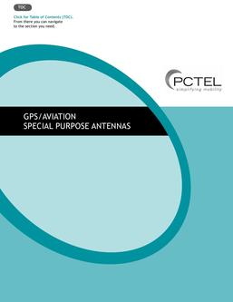 GPS Specialty Antenna Products Catalog