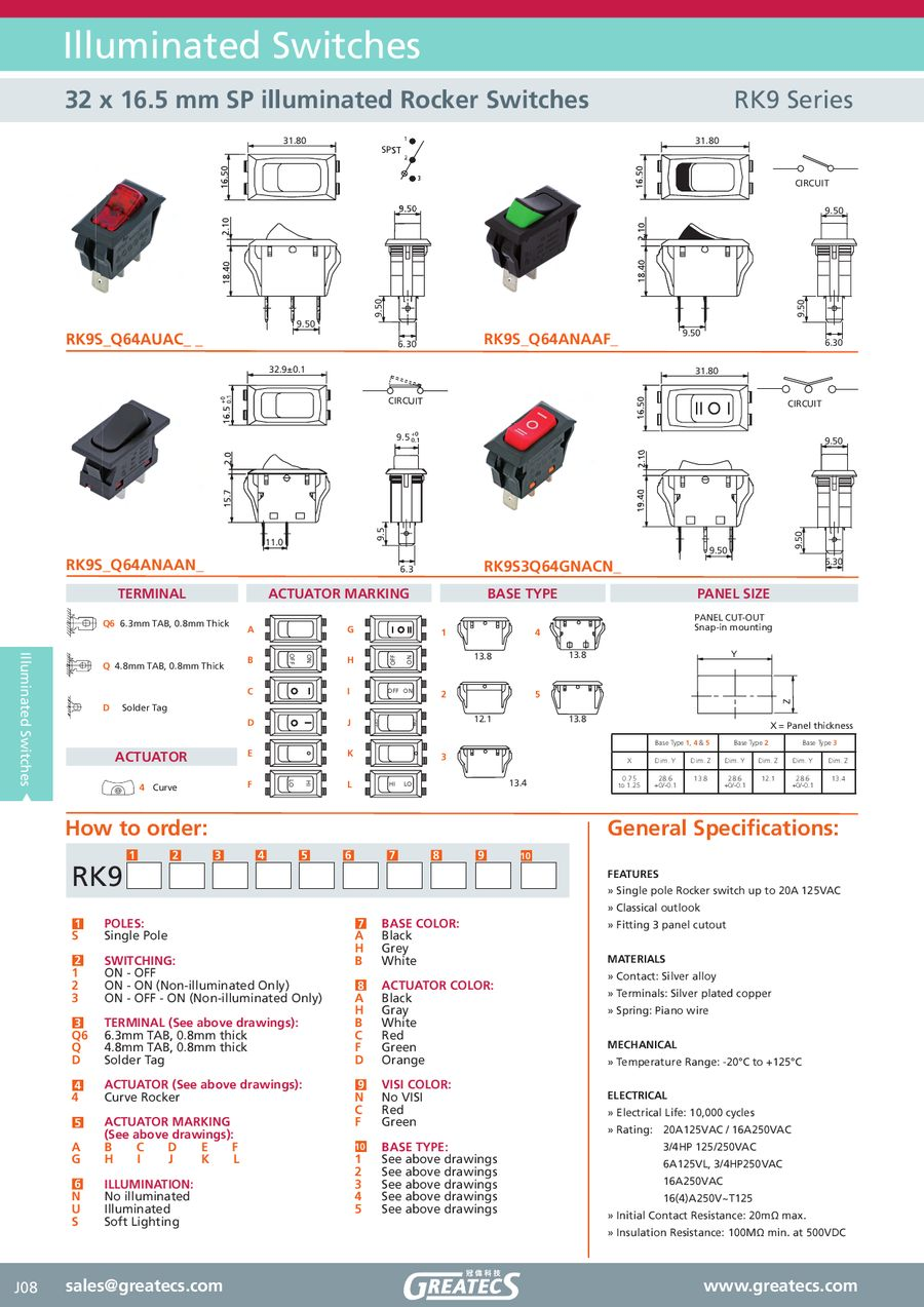 Illuminated Rocker Switches By Greatecs How To Hook Up Switch P 1 13