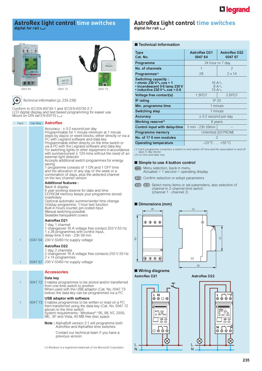 Page 234 of Wiring devices 2010/11