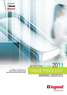 Wiring devices 2011