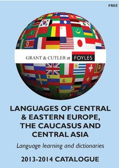 Central & East European catalogue 2013