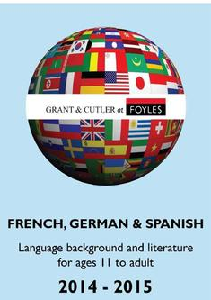 French, German & Spanish catalogue 2014-2015