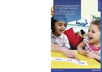 Speech and Language Assessments 2015
