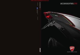 2010 Ducati Performance Accessory Catalog