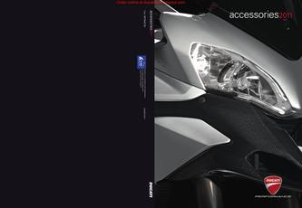 2011 Ducati Performance Accessory Catalog