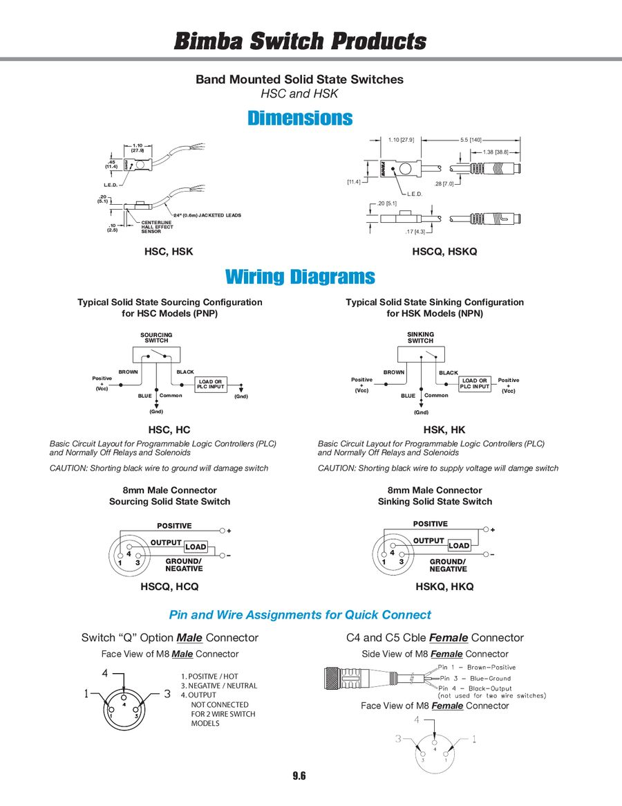 Switch Products 2011 By Bimba Manufacturing Reed 3 Wire Diagram P 1 31