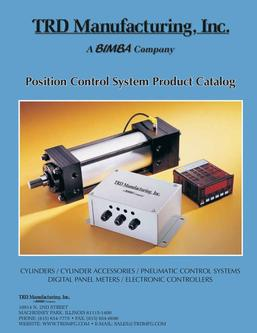 TRD Position Control System Product Catalog 2011