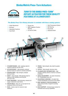 Metric Pneu-Turn Actuators 2011